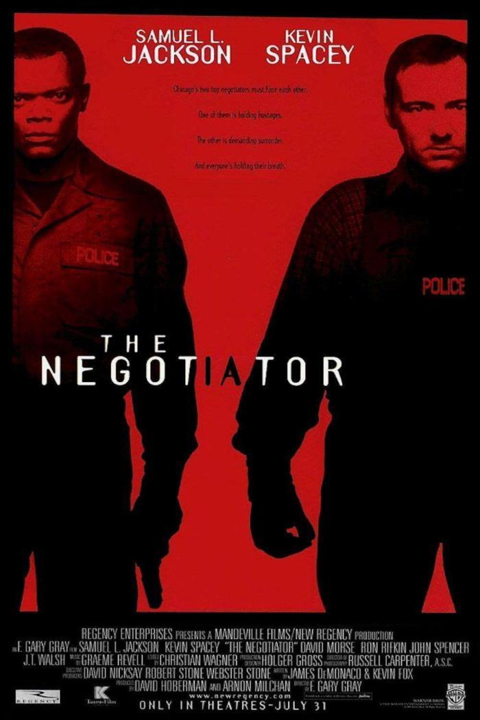 王牌對王牌_The Negotiator_電影海報