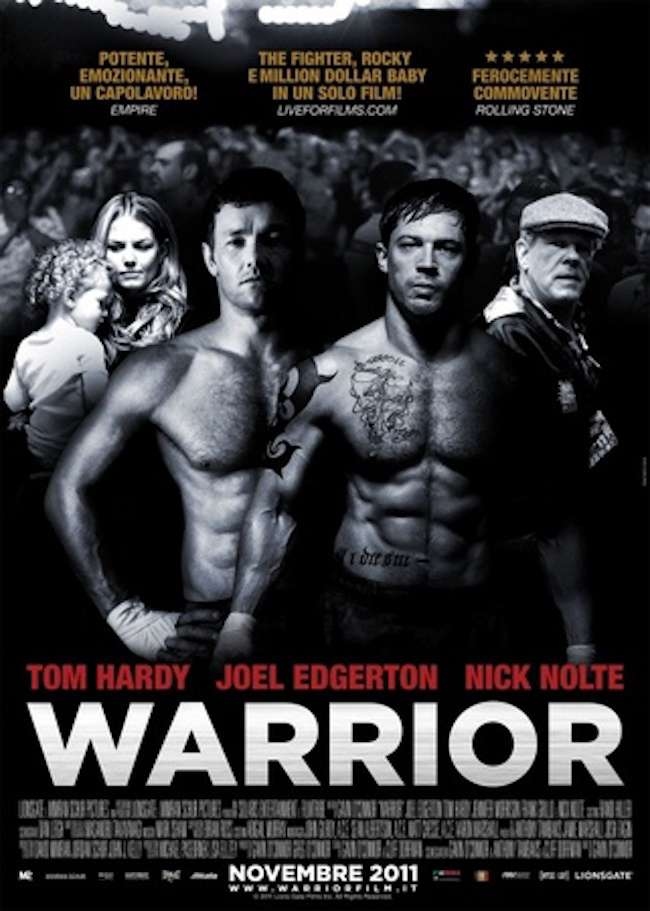 勇者無敵_Warrior_電影海報