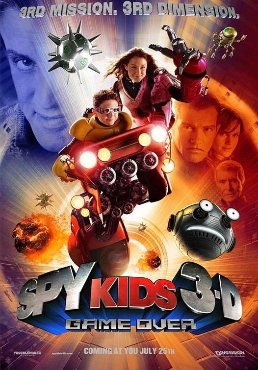 小鬼大間諜3_Spy Kids 3-D: Game Over_電影海報