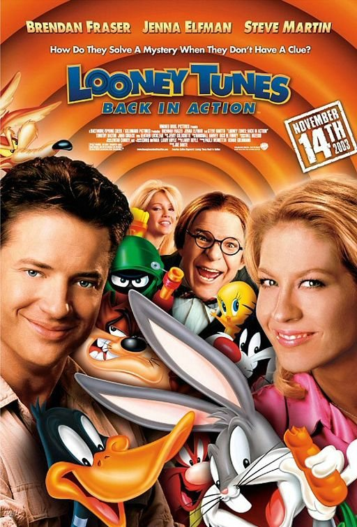 樂一通大顯身手_Looney Tunes: Back in Action_電影海報
