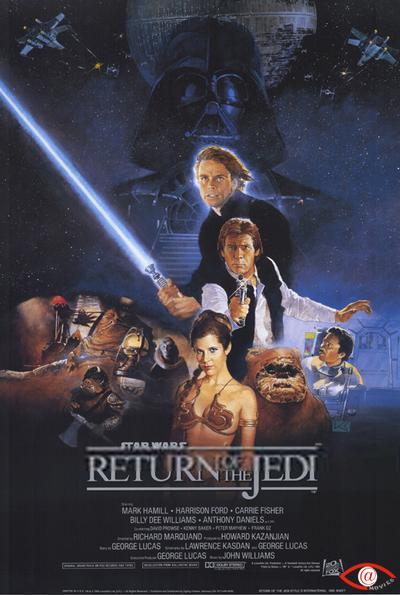 星際大戰六部曲:絕地大反攻_Star Wars Episode VI: Return of the Jedi_電影海報
