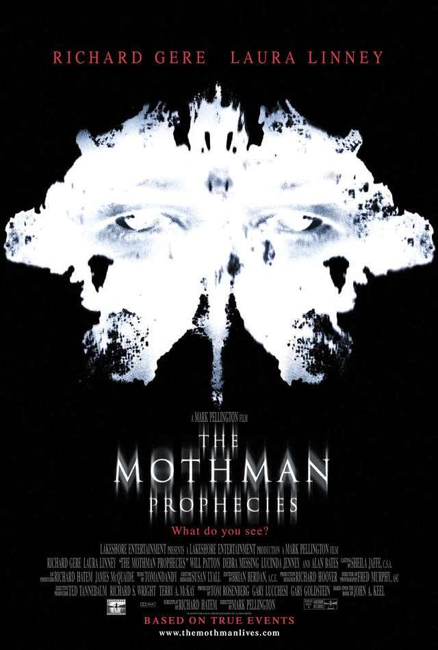 天蛾人_The Mothman Prophecies_電影海報