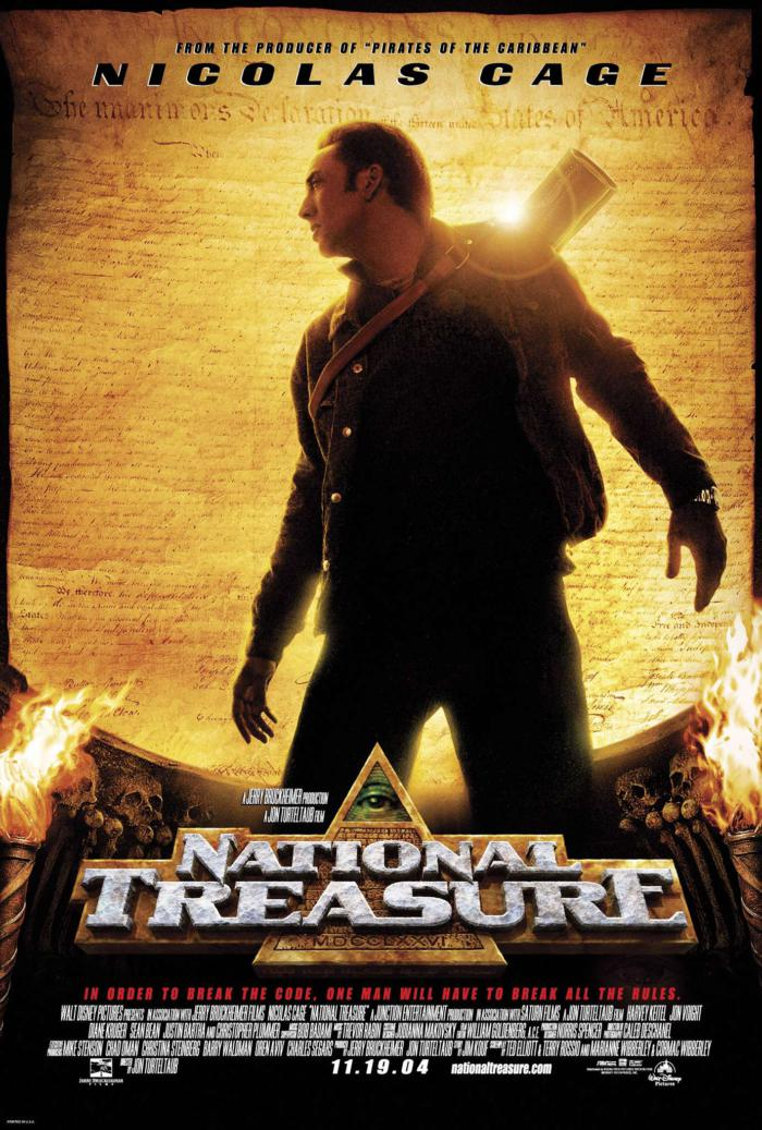 國家寶藏_National Treasure_電影海報