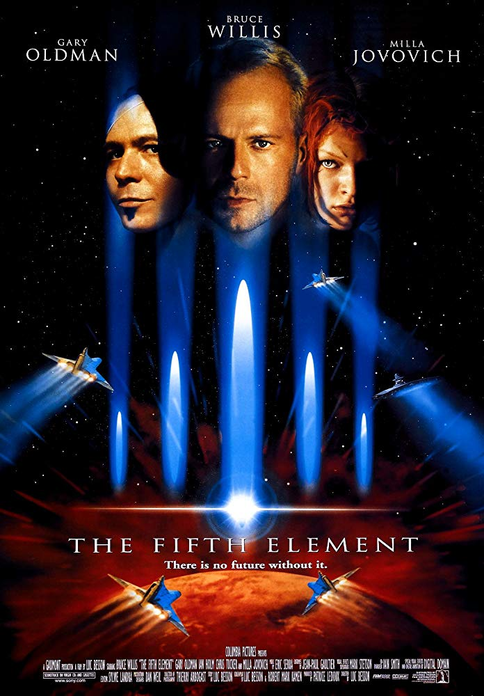 第五元素_The Fifth Element_電影海報