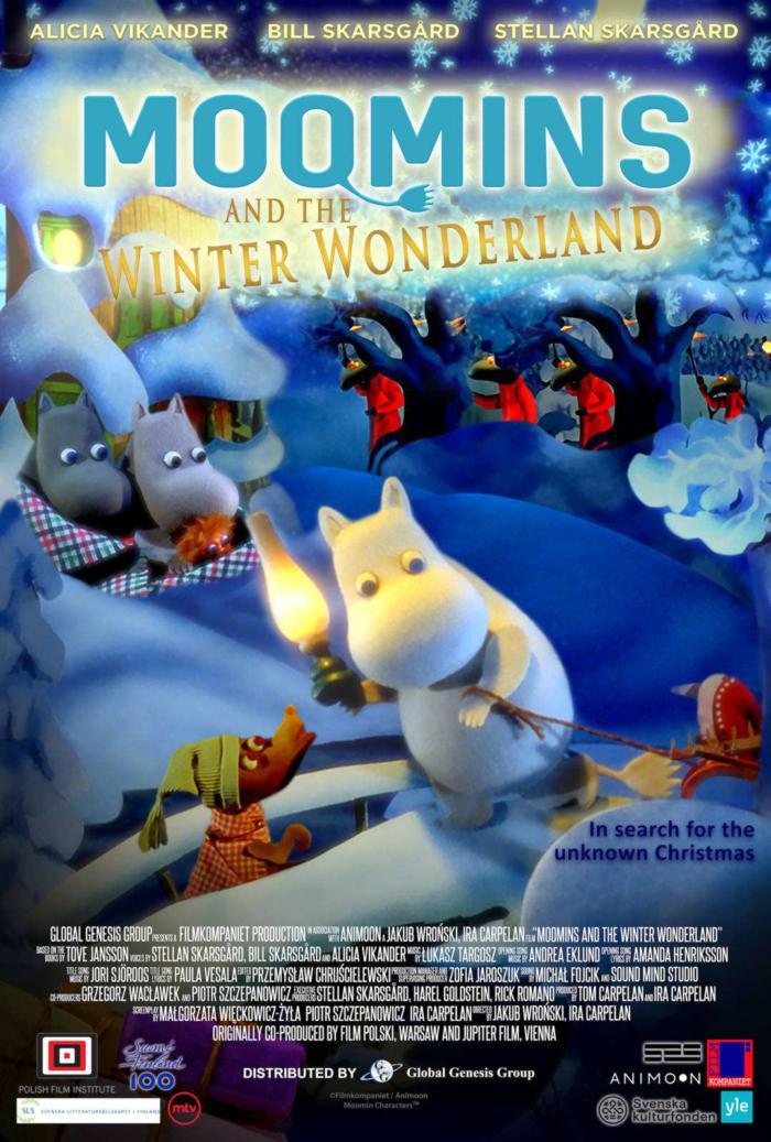嚕嚕米冬日樂園_Moomins And The Winter Wonderland_電影海報