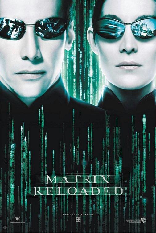 駭客任務:重裝上陣_The Matrix Reloaded_電影海報