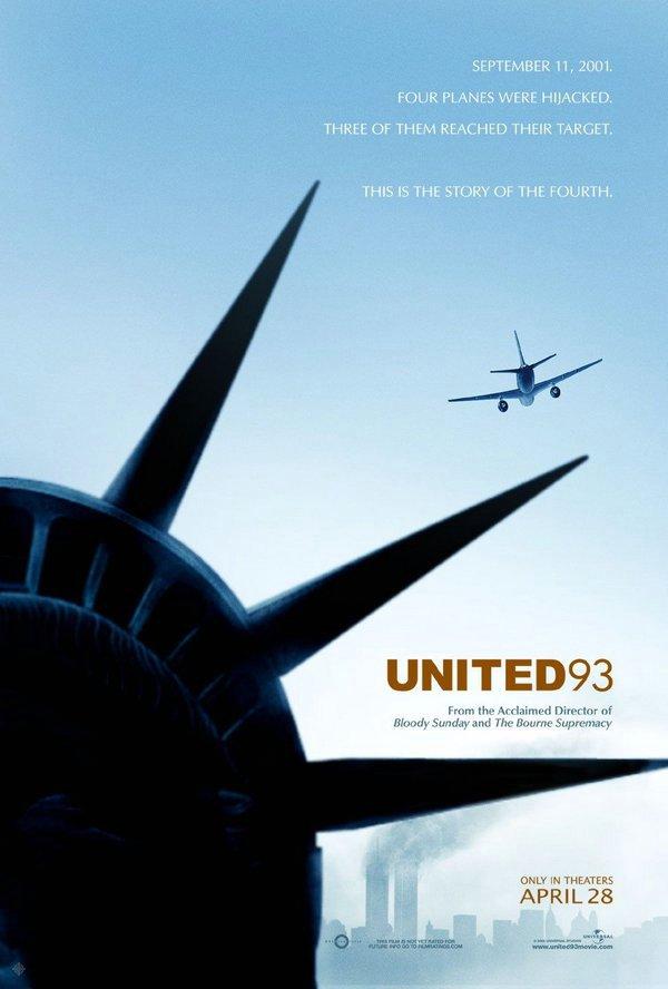 聯航93_United 93_電影海報