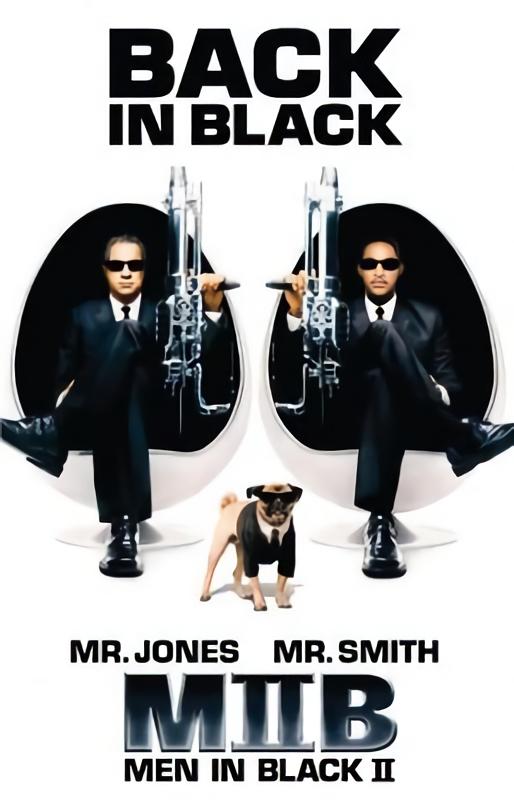 MIB星際戰警2_Men In Black 2_電影海報