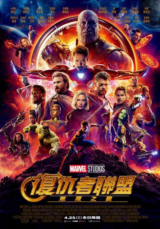 復仇者聯盟3:無限之戰_Avengers: Infinity War_電影海報