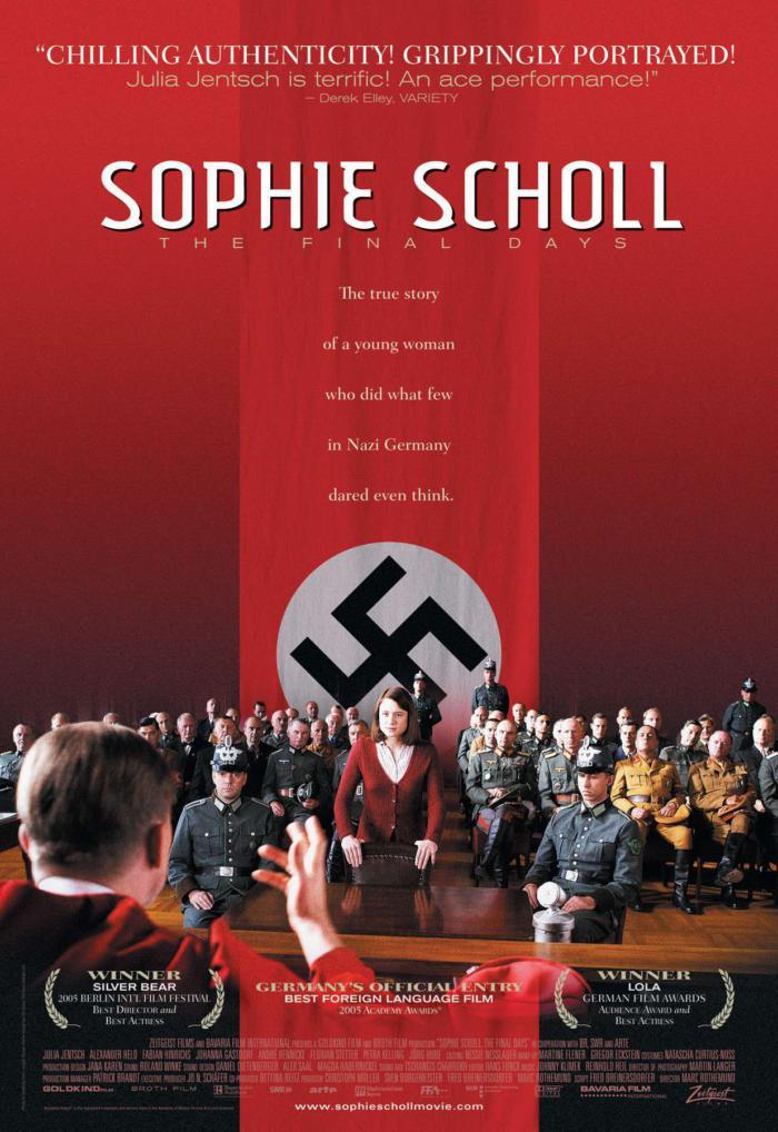 帝國大審判_Sophie Scholl-The Final Day_電影海報