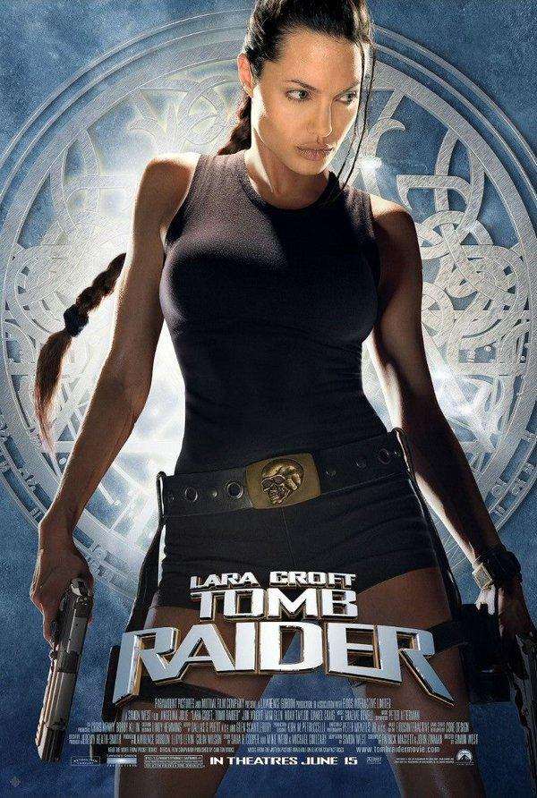 古墓奇兵(2001)_Tomb Raider(2001)_電影海報