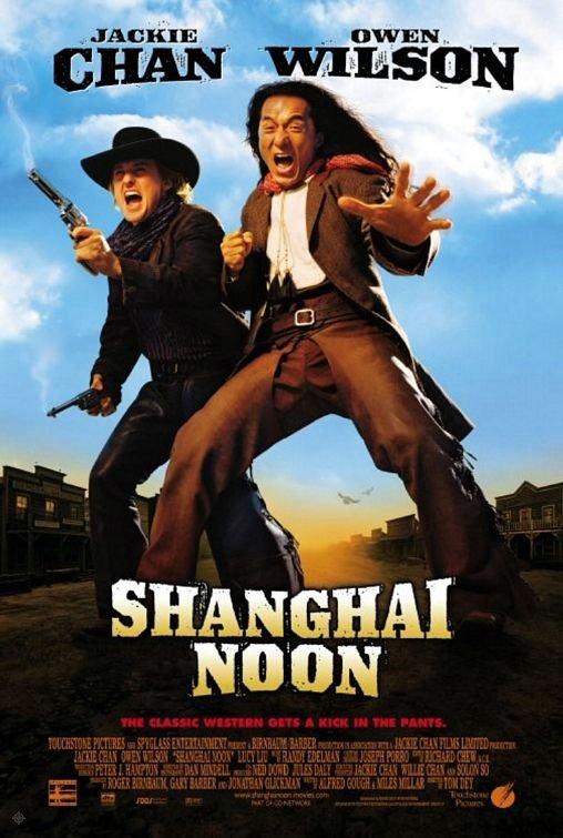 西域威龍_Shanghai noon_電影海報