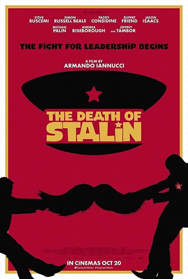 史達林死了沒?_The Death of Stalin_電影海報