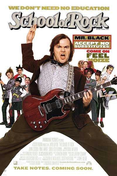 搖滾教室_The School of Rock(2003)_電影海報