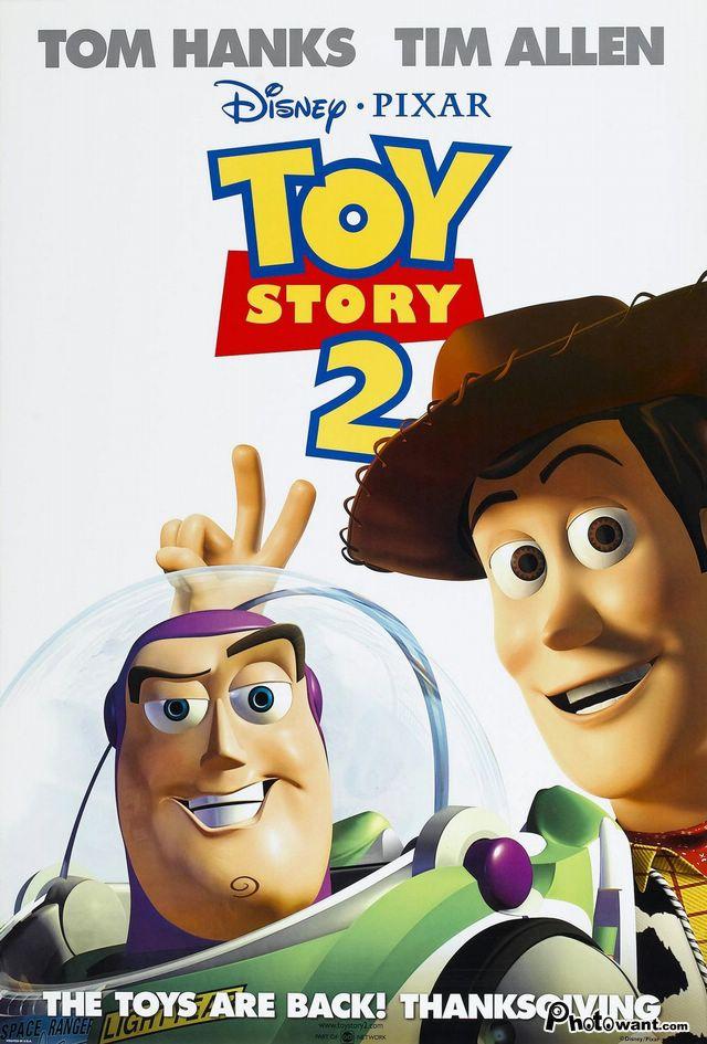 玩具總動員2_Toy Story 2_電影海報