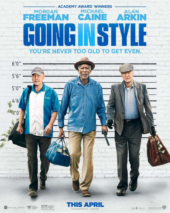 瀟灑搶一回_Going in Style_電影海報