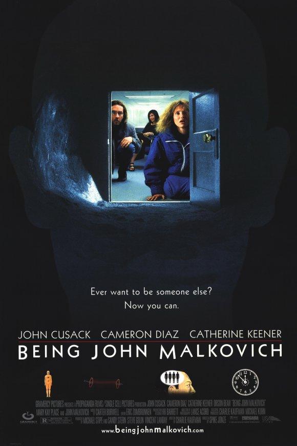 變腦_Being John Malkovich_電影海報