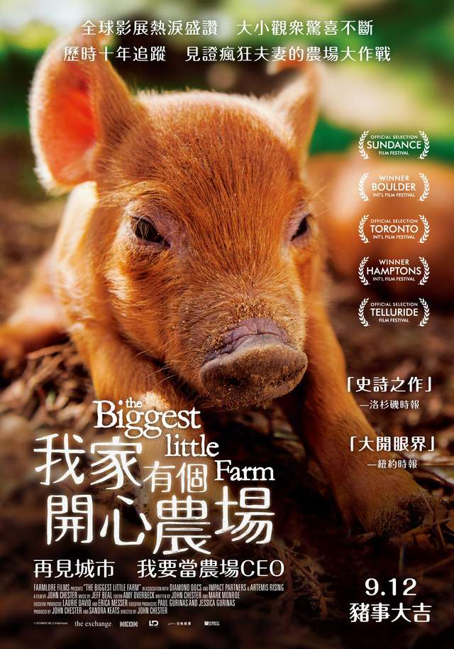 我家有個開心農場_The Biggest Little Farm_電影海報