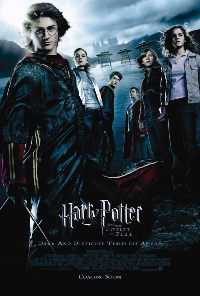 哈利波特:火盃的考驗_Harry Potter & The Goblet of Fire_電影海報