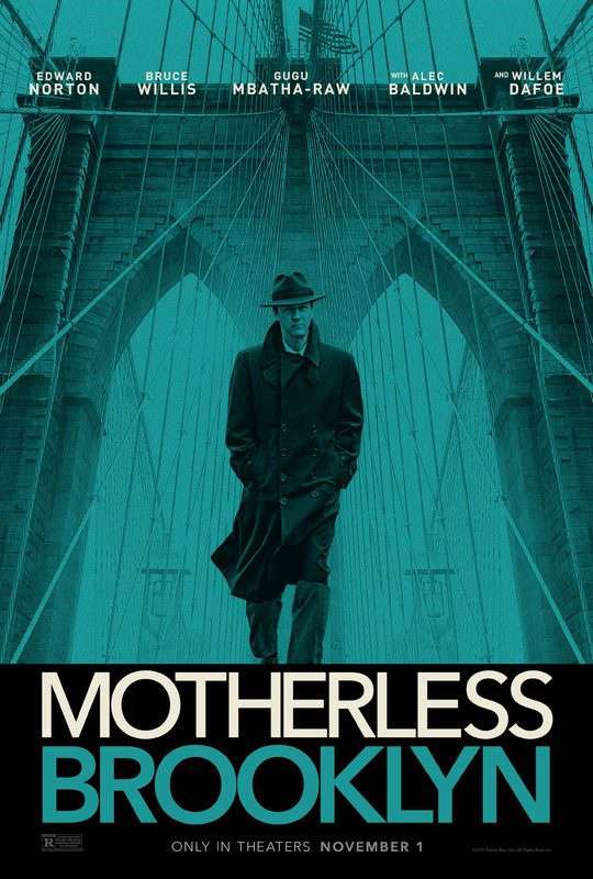 布魯克林孤兒_Motherless Brooklyn_電影海報