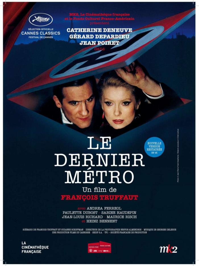 最後地下鐵_The Last Metro_電影海報