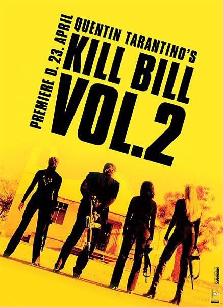 追殺比爾2:愛的大逃殺_Kill Bill Vol. 2_電影海報