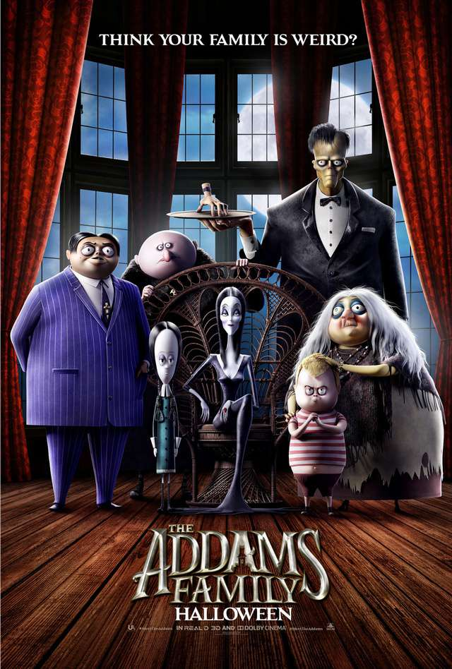 阿達一族_The Addams Family_電影海報