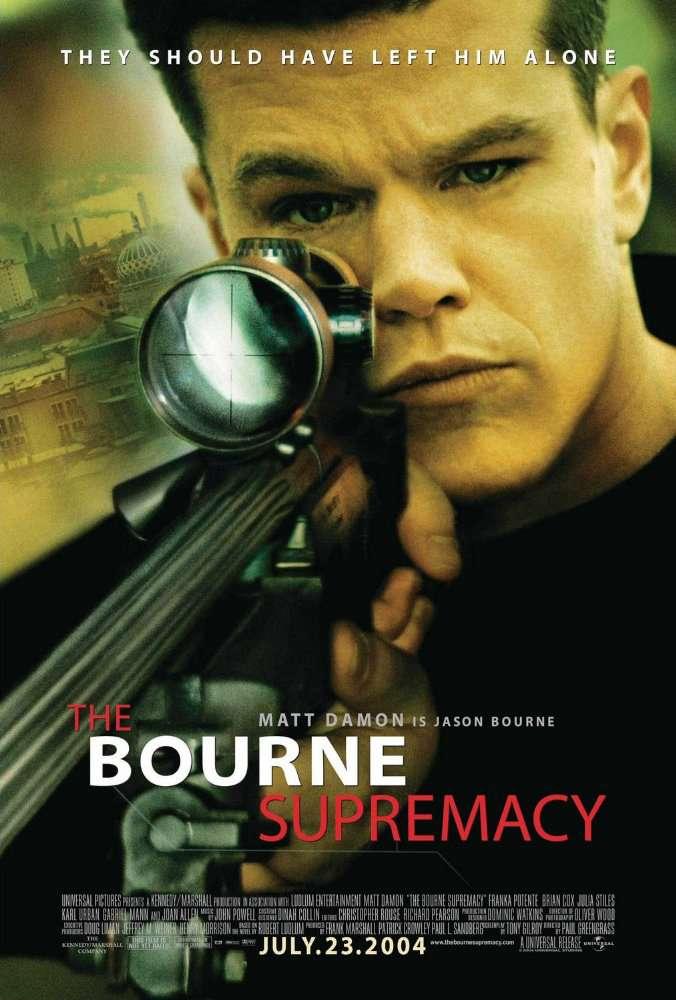 神鬼認證2:神鬼疑雲_The Bourne Supremacy_電影海報