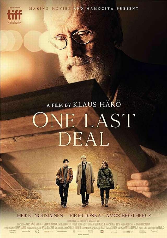 匿名的畫作_One Last Deal_電影海報