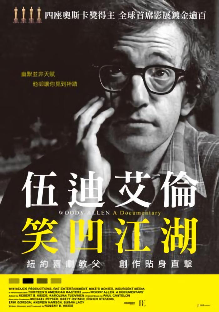 伍迪艾倫: 笑凹江湖_Woody Allen: A Documentary_電影海報