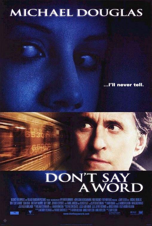 沉默生機_Don't  Say a Word_電影海報